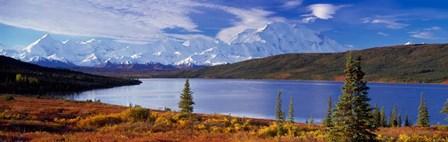 McKinley River, Denali National Park, AK by Panoramic Images art print