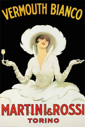 Martini And Rossi by Marcello Dudovich art print