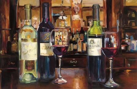 Reflection of Wine by Marilyn Hageman art print