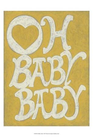 Oh Baby, Baby by Chariklia Zarris art print