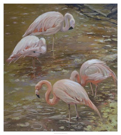 Pink Passion by Chuck Larivey art print