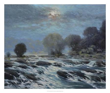 Moon Rapids by Chuck Larivey art print