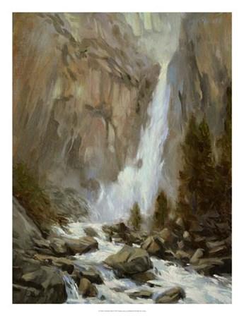 Yosemite Falls by Chuck Larivey art print