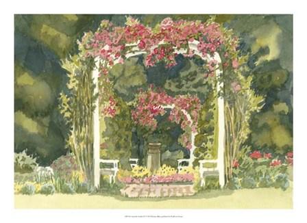 Aquarelle Garden IV by Dianne Miller art print