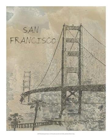 Remembering San Francisco by Irena Orlov art print