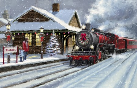 Christmas Station by The Macneil Studio art print