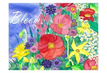 Fresh Flowers by Laurie Korsgaden art print