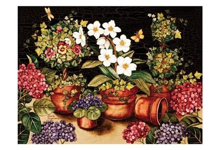 My Garden by Laurie Korsgaden art print