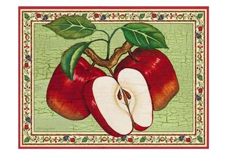 Apples by Laurie Korsgaden art print