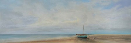 Green Boat by Peter Laughton art print