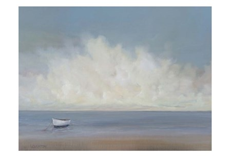 White Boat by Peter Laughton art print