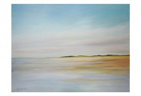 Where Sky Meets Land by Peter Laughton art print