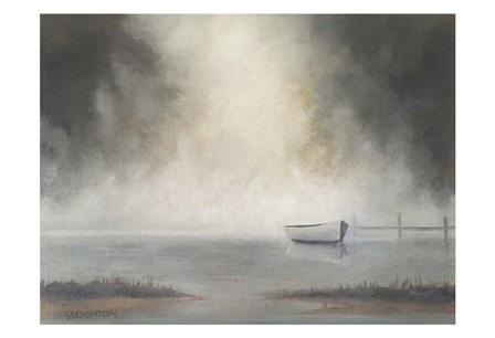 Misty by Peter Laughton art print