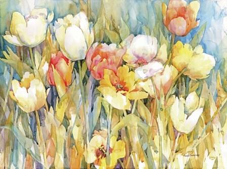 Tulip Team by Annelein Beukenkamp art print