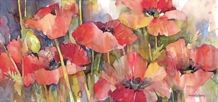 Red & Redder by Annelein Beukenkamp art print