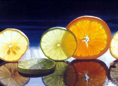 Juicy Fruit by Cecile Baird art print