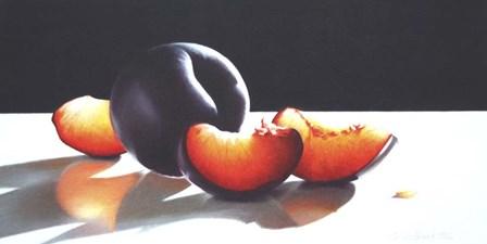 Plum Perfect by Cecile Baird art print
