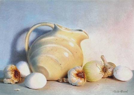White Study by Cecile Baird art print