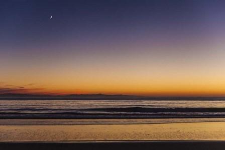 Moonrise Sunset by Chris Moyer art print