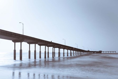 Pier Tone by Chris Moyer art print