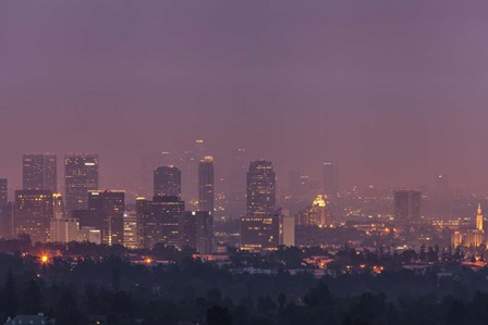 LA's Early Morning Light by Chris Moyer art print