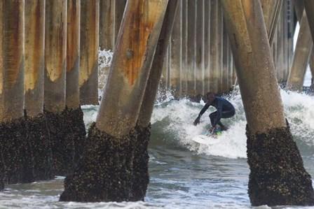 Threading the Pier by Chris Moyer art print