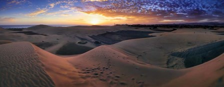 Panorama Maspalomas Dunes by Istvan Nagy art print