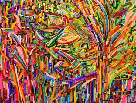 Evergreens by Josh Byer art print