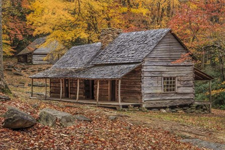 Bud Ogle Place With Barn by Galloimages Online art print