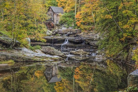 Grist Mill Fall 2013 2 by Galloimages Online art print