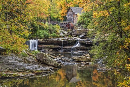 Grist Mill Fall 2013 5 by Galloimages Online art print