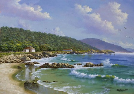 Carmel, CA by Eduardo Camoes art print