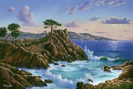 Lone Cypress - Carmel, CA by Eduardo Camoes art print