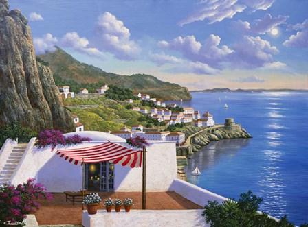 Amalfi - Italy by Eduardo Camoes art print