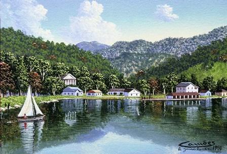 North Carolina by Eduardo Camoes art print