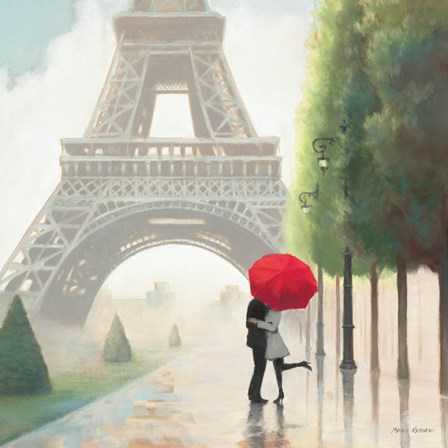 Paris Romance II by Marco Fabiano art print