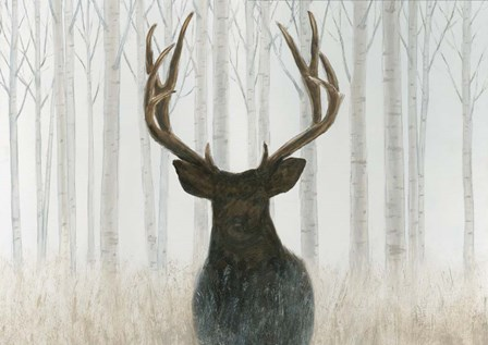 Into the Forest by James Wiens art print