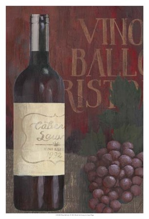 Wine Still Life I by Grace Popp art print