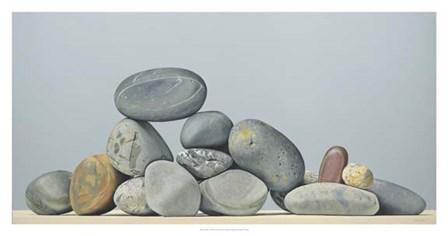 Rocks - Still Life by Kevork Cholakian art print