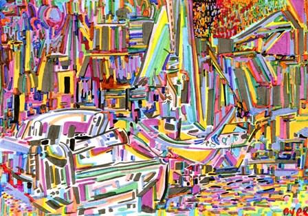 Boats by Josh Byer art print