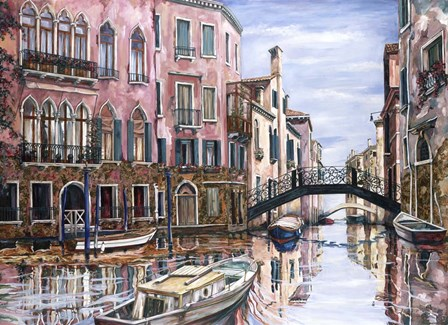 Afternoon In Venice by Karen Stene art print