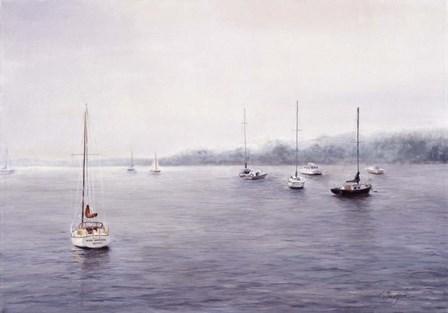 Cape Cod Mist by Kathie Thompson art print
