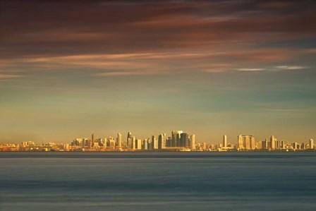Sunrise Across the Sea by Michael de Guzman art print