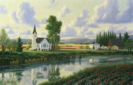 Conway Church by Randy Van Beek art print
