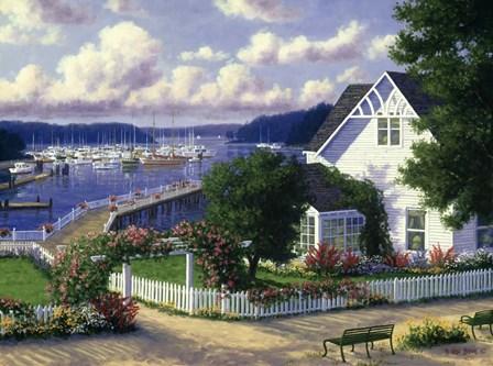 Roche Harbor by Randy Van Beek art print