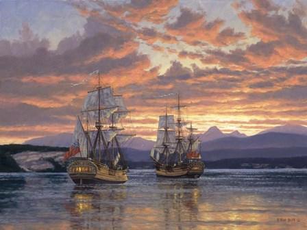 Captain Vancouver by Randy Van Beek art print