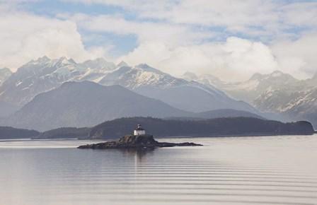 Eldred Rock Lighthouse, Alaska 09 by Monte Nagler art print