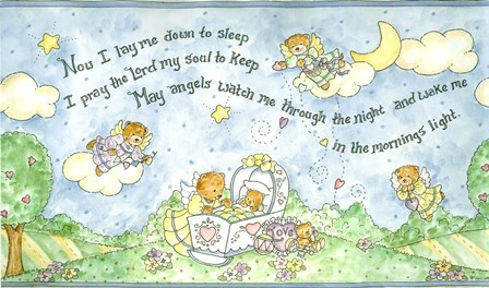 Now I Lay Me Down To Sleep by Shelly Rasche art print