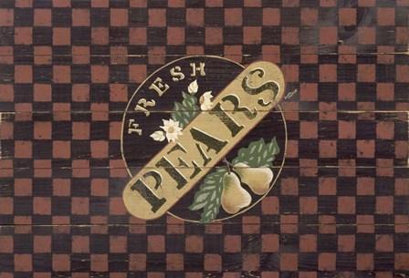 Pears by Susan Clickner art print