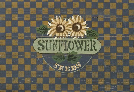 Sunflower by Susan Clickner art print